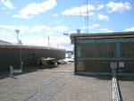 The Horres palace roof top where the solar panels are installed.JPG